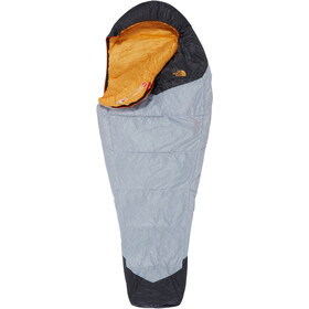 The North Face Gold Kazoo Sacco a pelo, high rise grey/radiant yellow